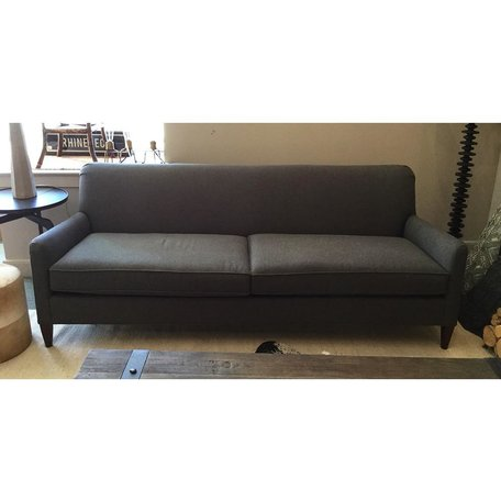 """Sloane 84"""" Sofa in Ridley Charcoal by MGBW"""