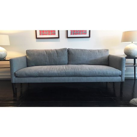 """Morgan 83"""" Sofa #7099-03 in Sahara Shale w/ Haven Package by Lee Industries"""
