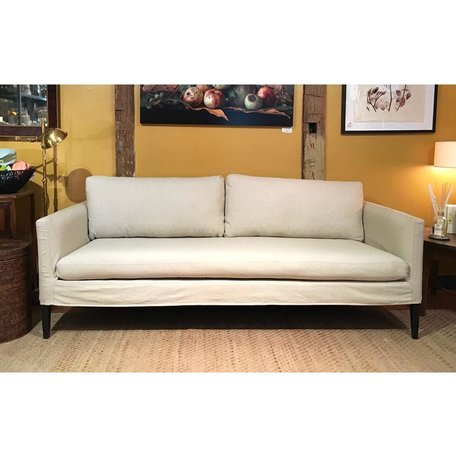 Laura Slipcovered Sofa C7098-03 Basket Natural by Lee Industries