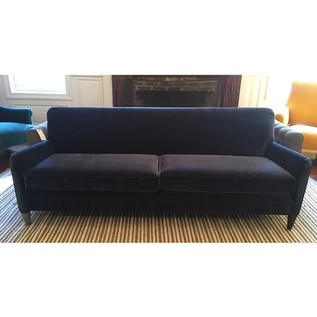 "Sloane 84"" Sofa in Linley Blue by MGBW"