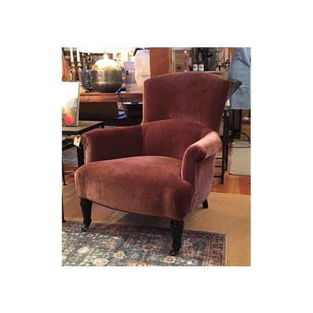 Miranda Chair 1235-01 in Everest Mulberry by Lee Industries