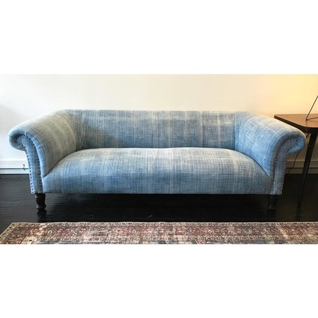"""Springfield 84"""" Sofa in One of a Kind Vintage Fabric by Cisco Brothers"""