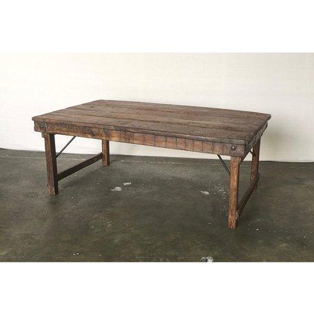 Vintage Wood Wedding Coffee Table
