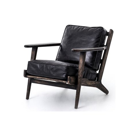 Brooks Lounge Chair in Ebony