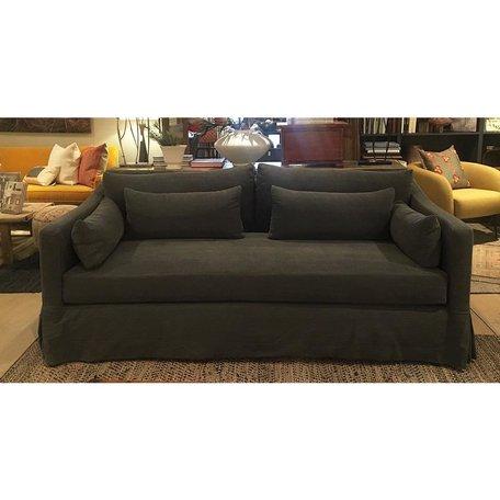 """Rebecca 84"""" Sofa in Molino Slate by Cisco Brothers"""