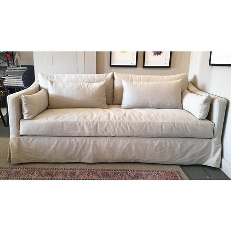 Rebecca Sofa in Naoki Latte by Cisco Brothers 84""
