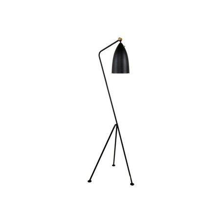 Grasshopper Floor Lamp in Black