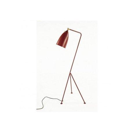 Grasshopper Floor Lamp in Red