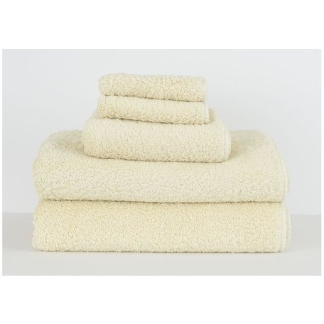 Super Pile Egyptian Cotton Wash Towel in Ivory