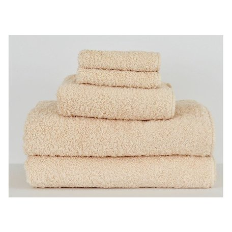 Super Pile Egyptian Cotton Wash Towel in Nude