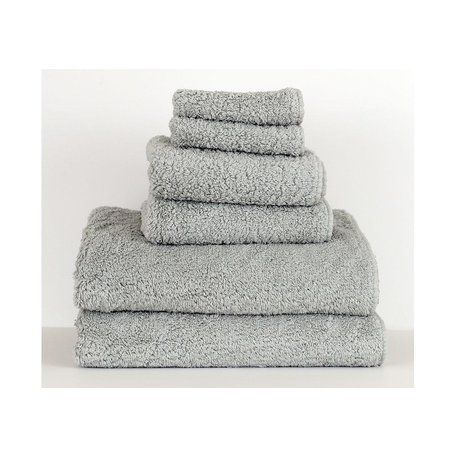 Super Pile Egyptian Cotton Hand Towel in Platinum