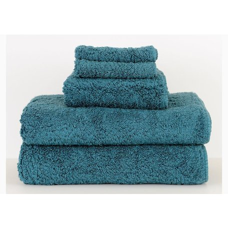 Super Pile Egyptian Cotton Wash Towel in Teal