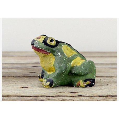 Vintage Cement Garden Frog