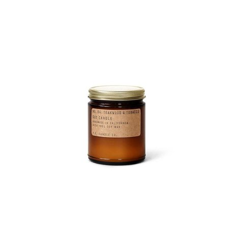 Hand-Crafted Teakwood & Tobacco Soy Candle, 7.2 oz