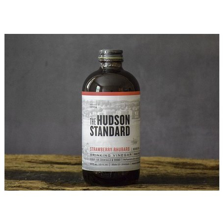 The Hudson Standard Strawberry Rhubarb Shrub 12oz
