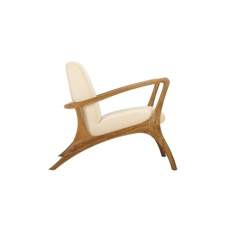 Shannon Lounge Chair in Natural