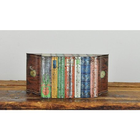 Vintage Books Biscuit Tin