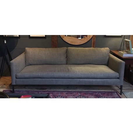 "Morgan 83"" Sofa #7099-03 in Sahara Taupe w/ Haven Package by Lee Industries"