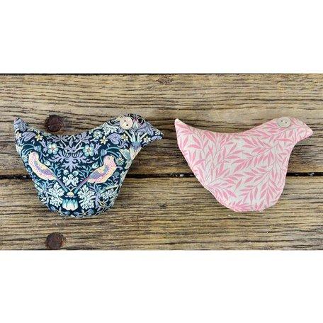 Lavender Bird Sachets, Set of Two