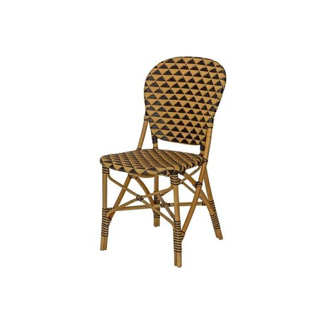 Summer Side Chair in Natural/Black