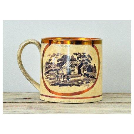 Vintage Motto Mug