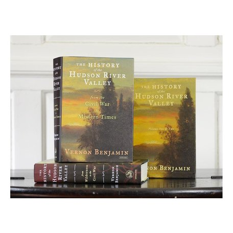 History of the Hudson Valley Volumes One & Two Boxed Set by Vernon Benjamin