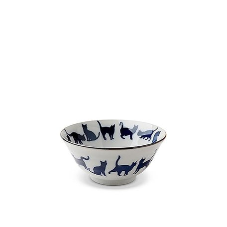 "Blue Cat 5.75"" Bowl"