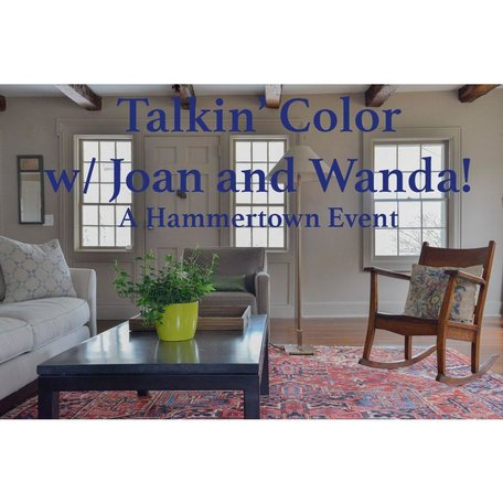 Talkin' Color Event with Joan and Wanda