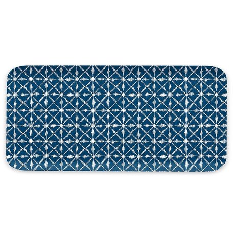 Indochine Ikat Melamine Rectangular Tray