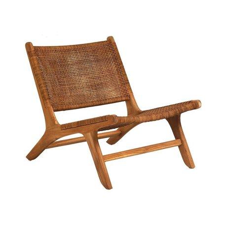 David Teak Woven Chair