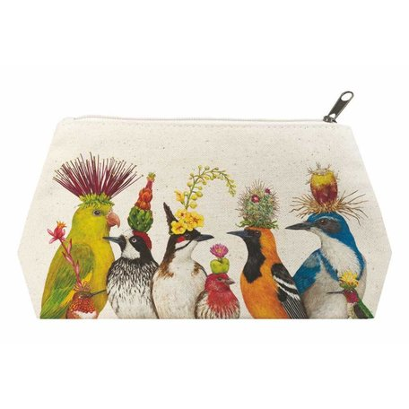 The Entourage Canvas Cosmetic Bag
