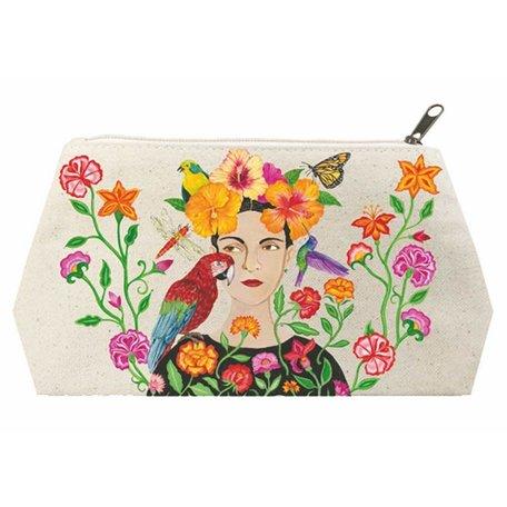 La Dolorosa Canvas Cosmetic Bag