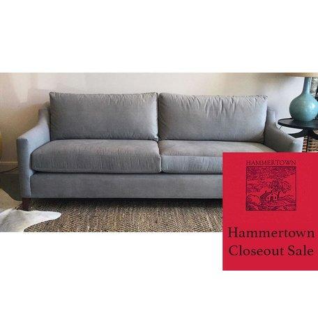 """Gigi 85"""" Sofa in Thompson Steel by MGBW"""