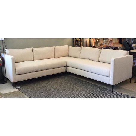 Benedict Sectional in Vanocur Natural by Cisco Brothers