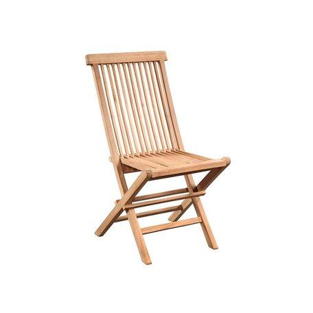 Arden Teak Folding Chair
