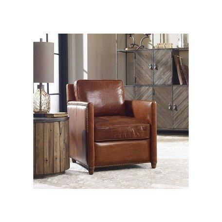 Urban Leather Club Chair