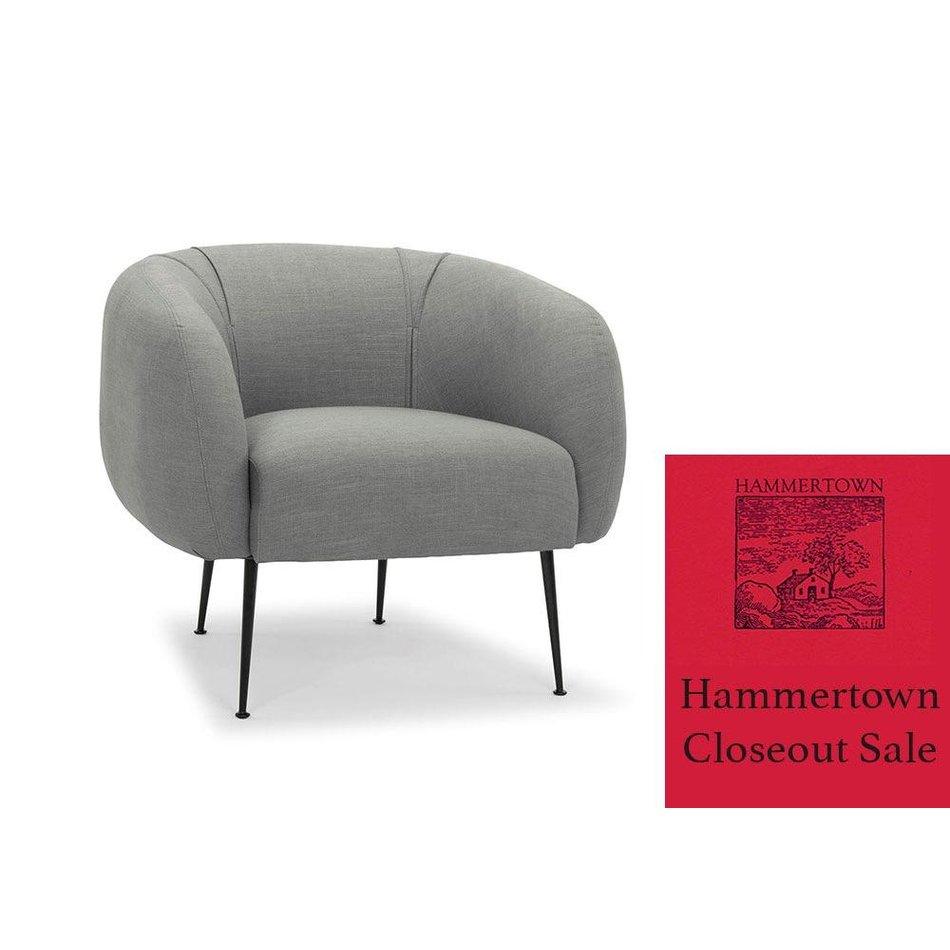 Tremendous Sepli Accent Chair In Grey Black Ibusinesslaw Wood Chair Design Ideas Ibusinesslaworg