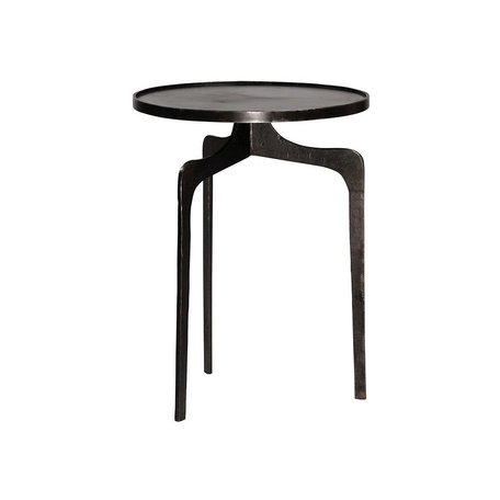 Tawnton Steel Sidetable