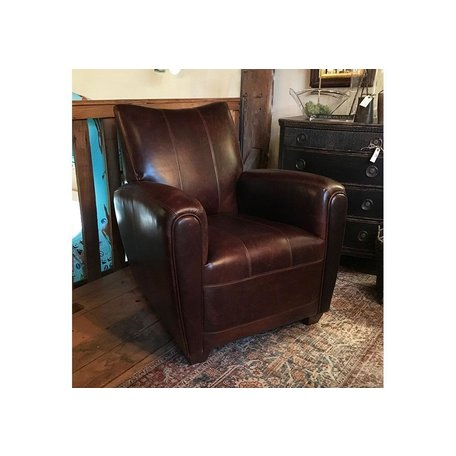 Brit Leather Accent Chair