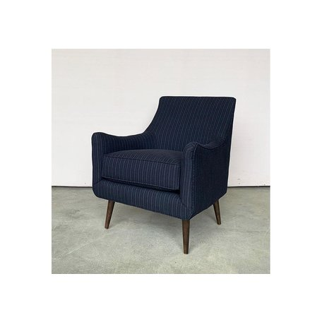 Natalie Chair in Blue Stripe