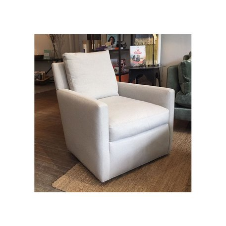 Madison Swivel Chair in Cody Linen by Lee Industries