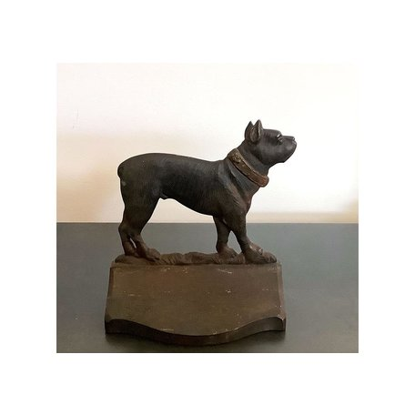 Vintage Mastiff Door Stop / Bookend