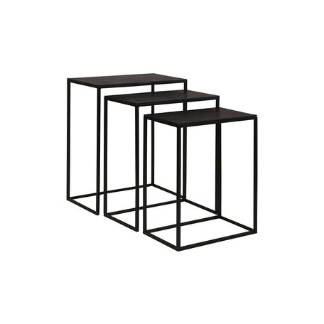 Colleen Iron and Aluminum Nesting Tables