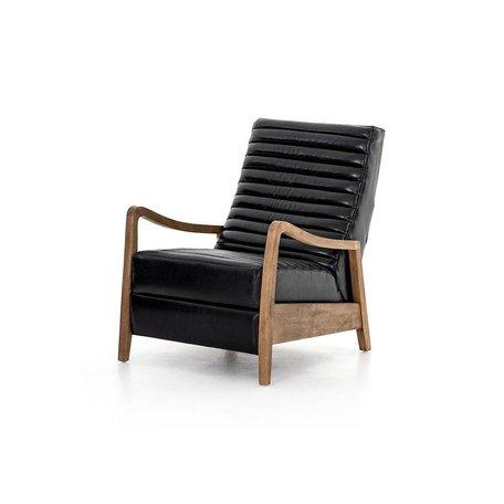 Fala Recliner in Dakota Black Leather