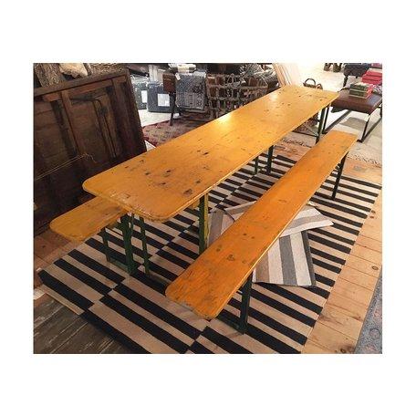Biergarten Table w/ 2 Benches