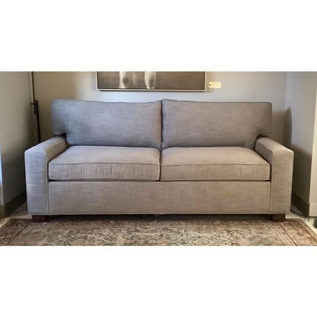 "Alex 79"" 2/2 Luxe Queen Sleeper Sofa in  Fulmer Earth"