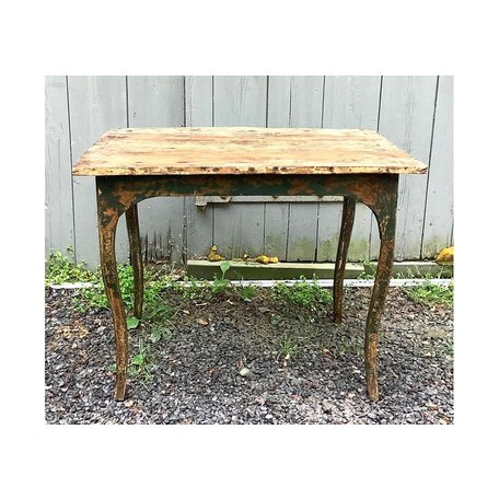 Vintage Italian Painted Table w/Early Finish
