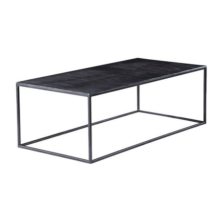 Colleen Iron and Aluminum Coffee Table