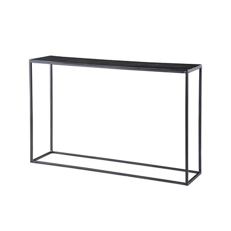 Colleen Iron and Aluminum Console Table
