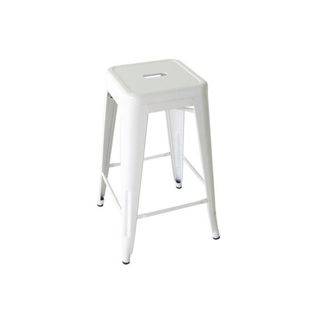 Bouchon Counter Stool in White